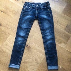 Miss Me Cuffed Skinny Jean